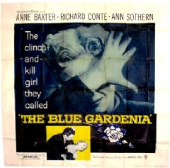 The Blue Gardenia 1953 DVD - Anne Baxter / Richard Conte